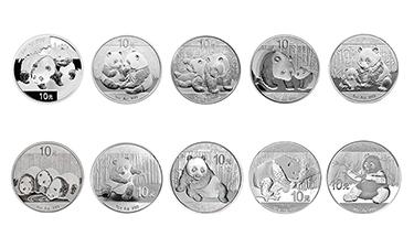 08-17熊猫银币