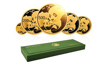 2019熊猫金币